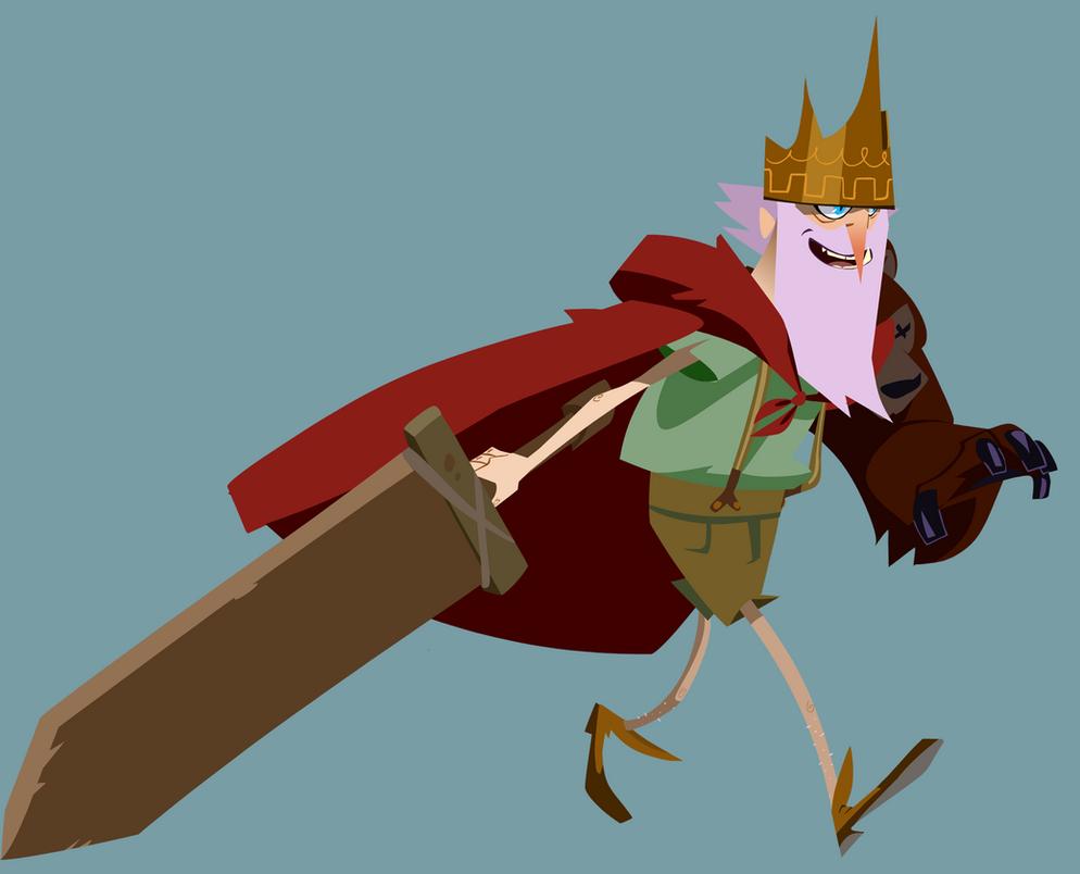 Fa King running by Gilmec