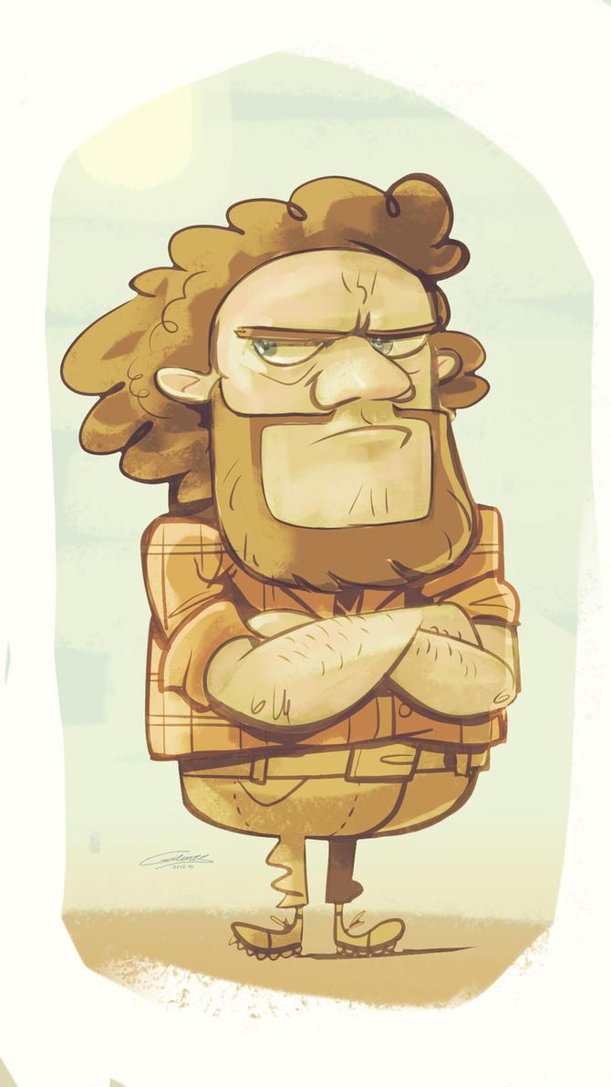 Grumpy Druckdriver by Gilmec