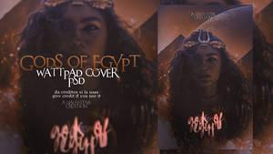 Wattpad Cover PSD: Gods of Egypt
