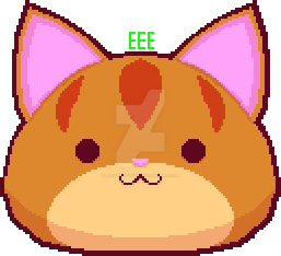 Small Head Cat (Sprite Version) by EEEnt-OFFICIAL