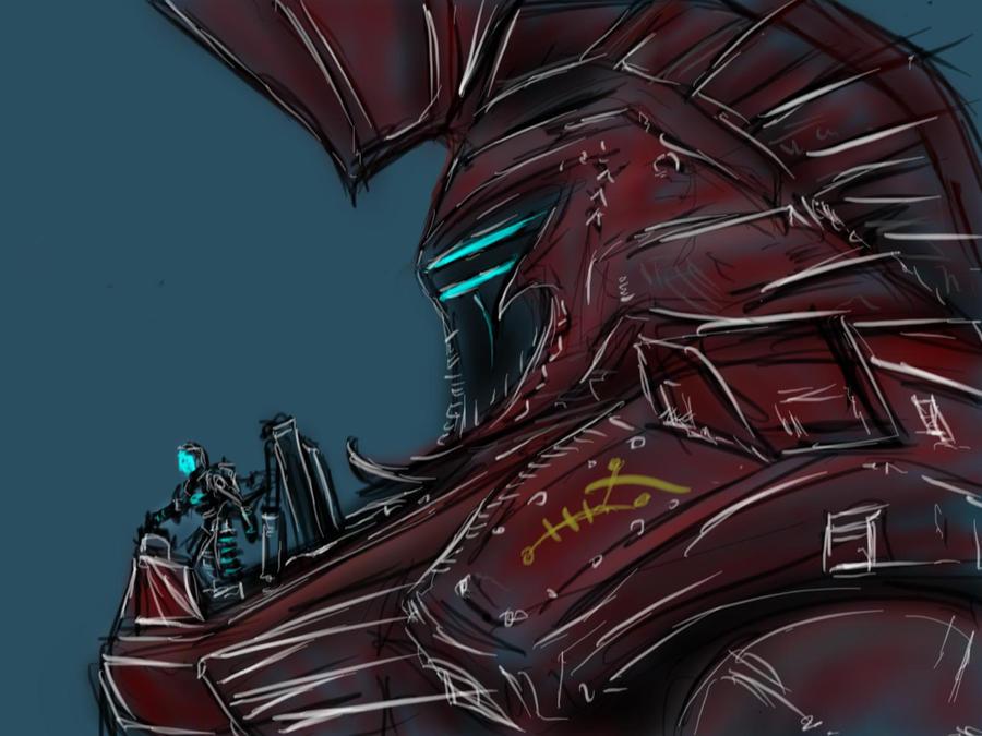 mech knight 2 by MortarPsycho