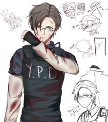 Jyuto The Rookie Cop by Soft-Vel
