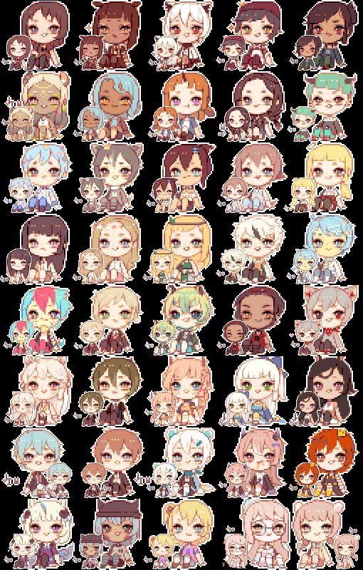 pixel icon wall [dump] by jingbabu