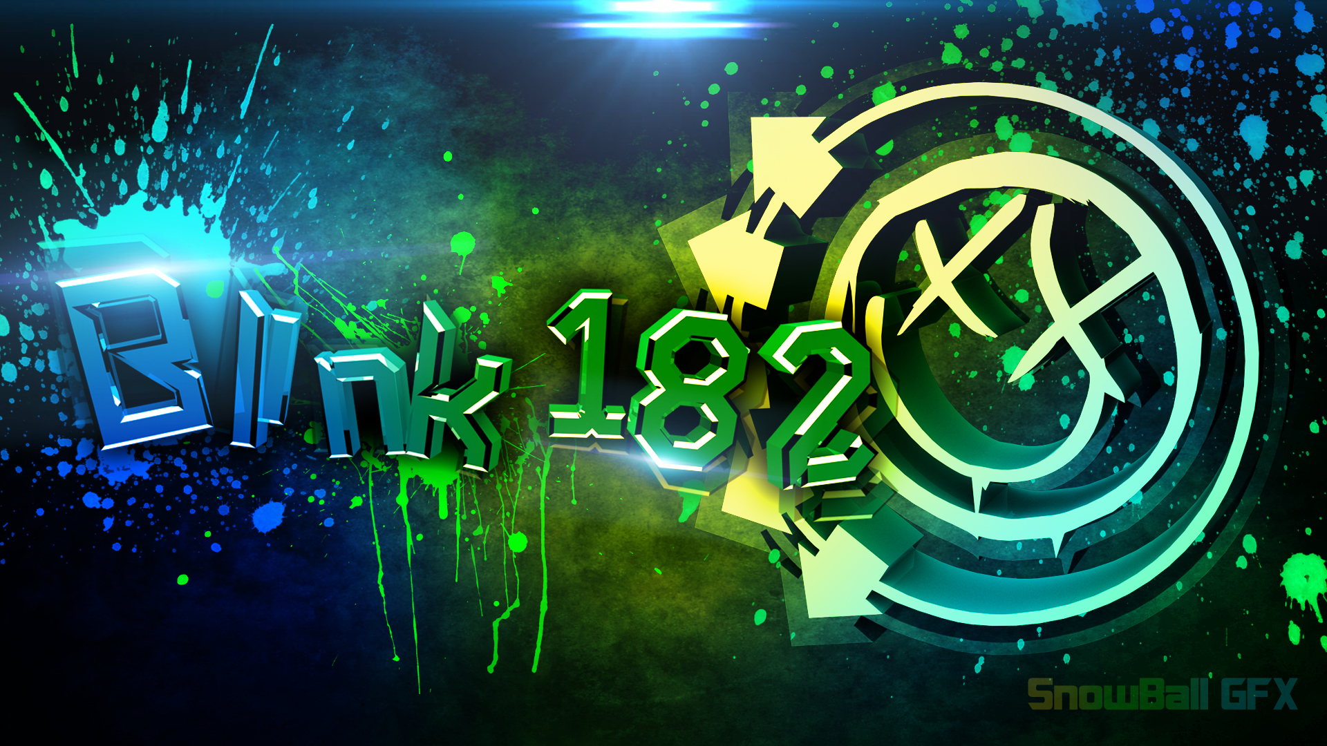 Blink 182 ABSTRACT by SnowBallGFX on DeviantArt