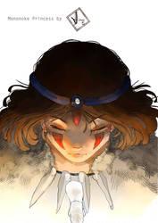 Mononoke Princess by S-Hiiragi