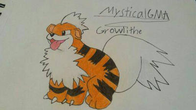 Grooooowlithe!  by MysticalGMA