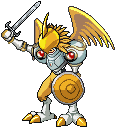 RoyalAngemon Ancient Paladin of Heart by jetwhiskey