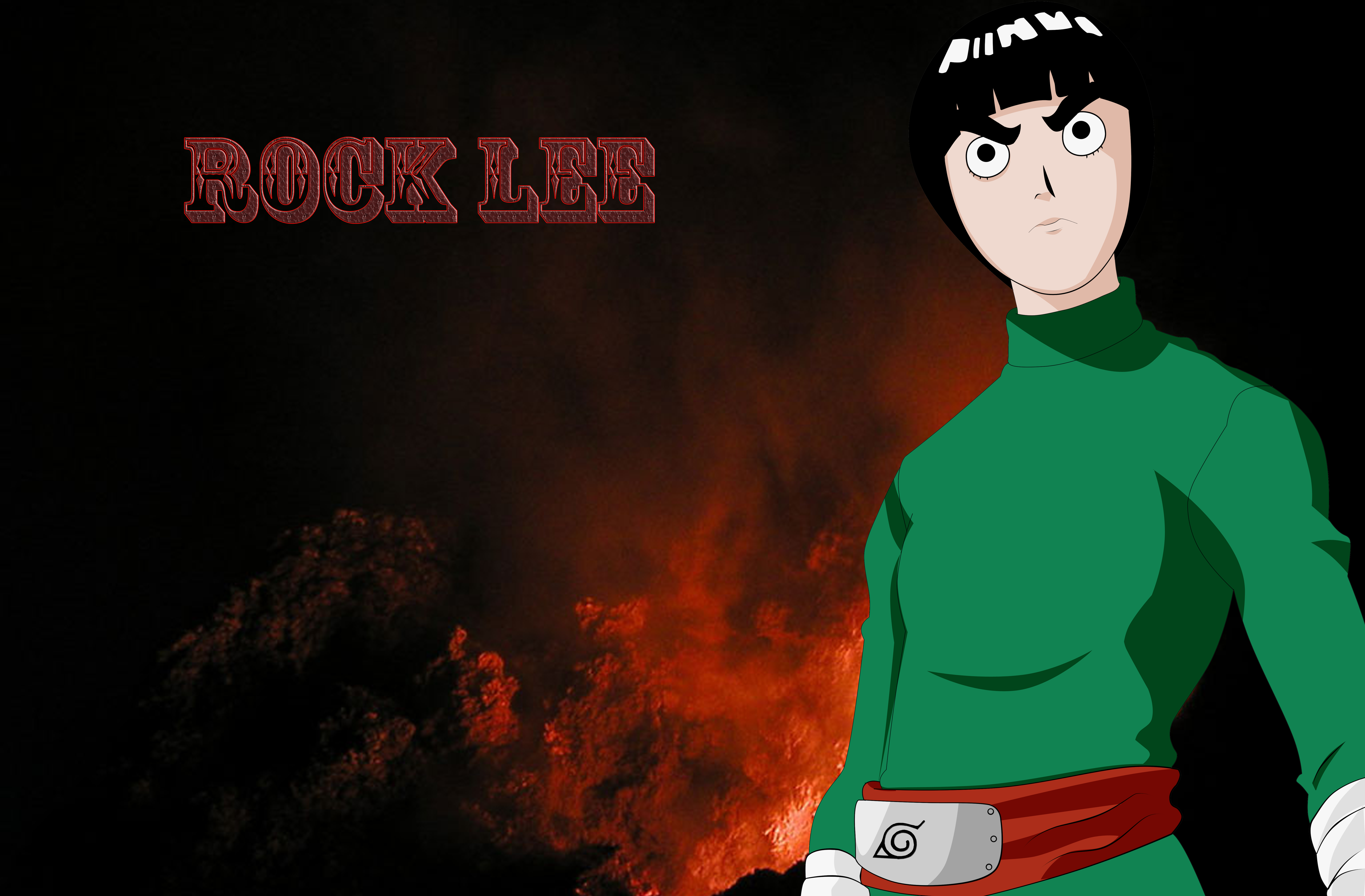Popular Wallpaper Naruto Rock Lee - Rock_Lee_Wallpaper_by_Hand_Banana  HD_358537.png