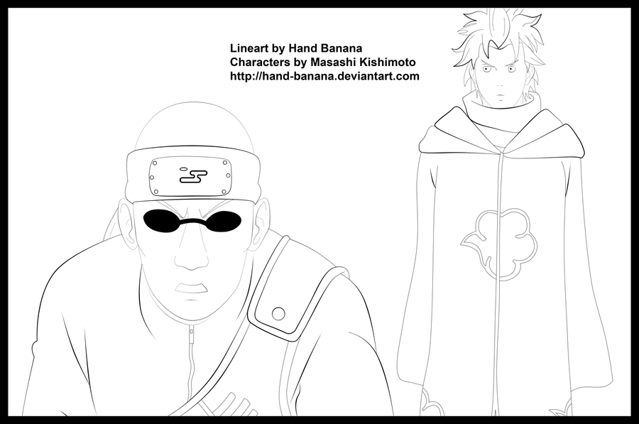 Element of Suprise Lineart by Hand-Banana