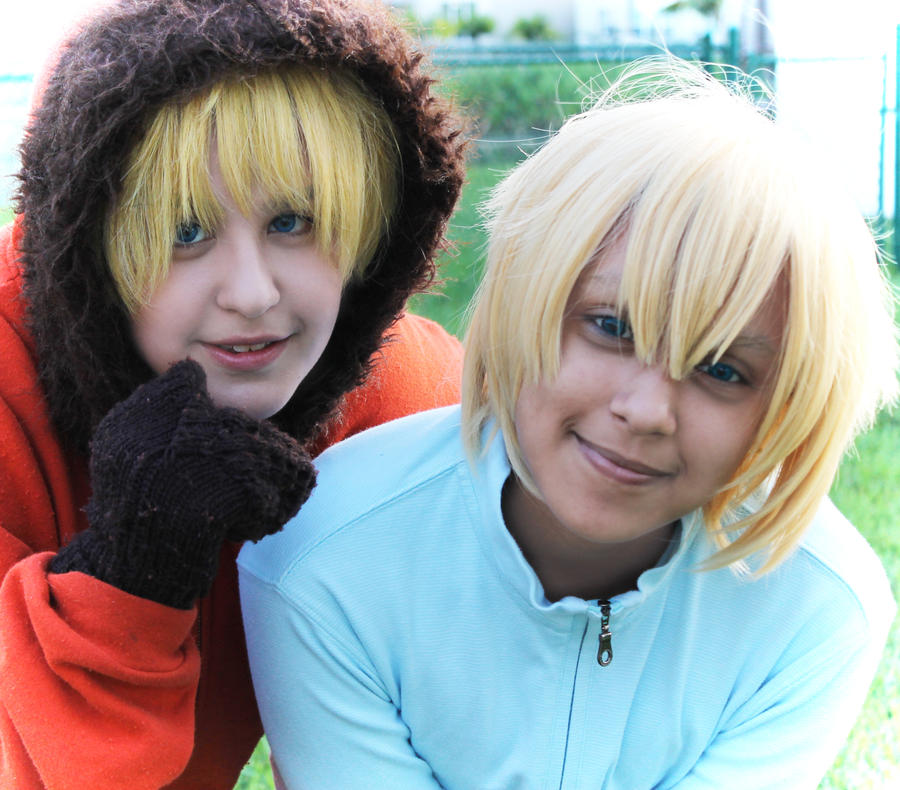 South Park Kenny and Butters South Park Butters And Kenny