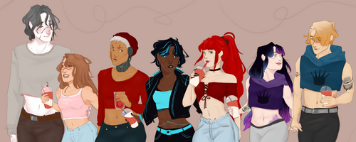 Crop Top Squad 1 by Grippee