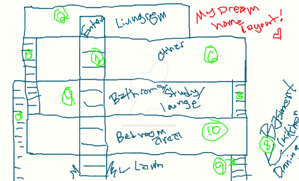 My Dream House Layout By Toxicskunky D4rbdyz My Dream House Layout By Toxicskunky On Deviantart On Blueprint Of My Dreamhouse