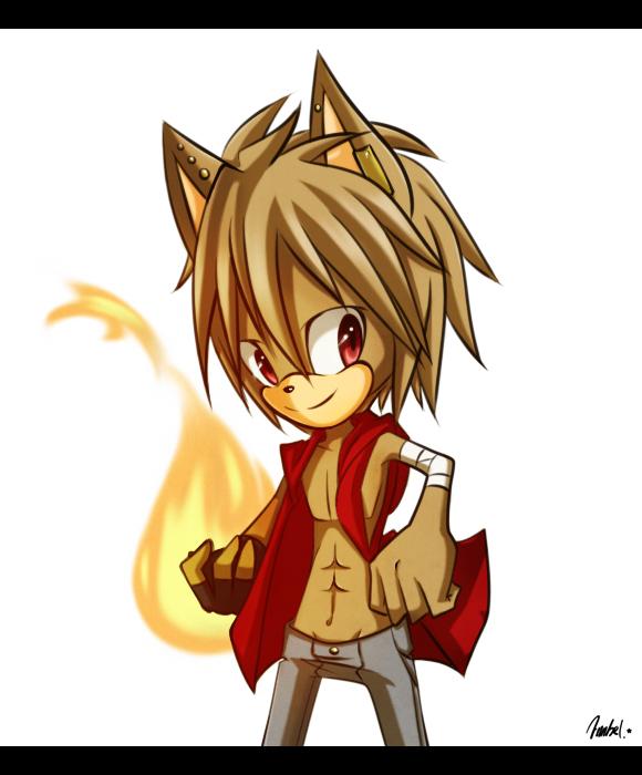 -. Axel is on fire .- by Ann-Bel
