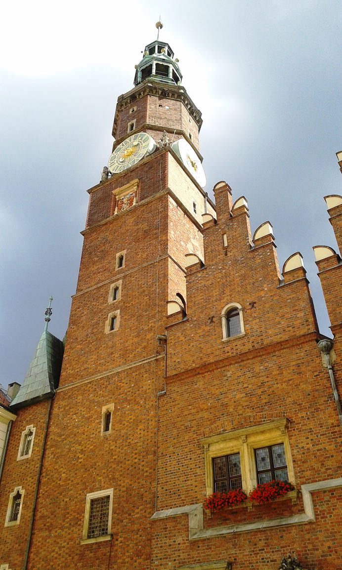 Town Hall - Wroclaw by Polin-Sam