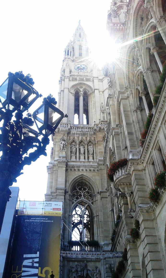 town hall in Wien by Polin-Sam