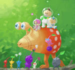 Fan Art - Pikmin Parade