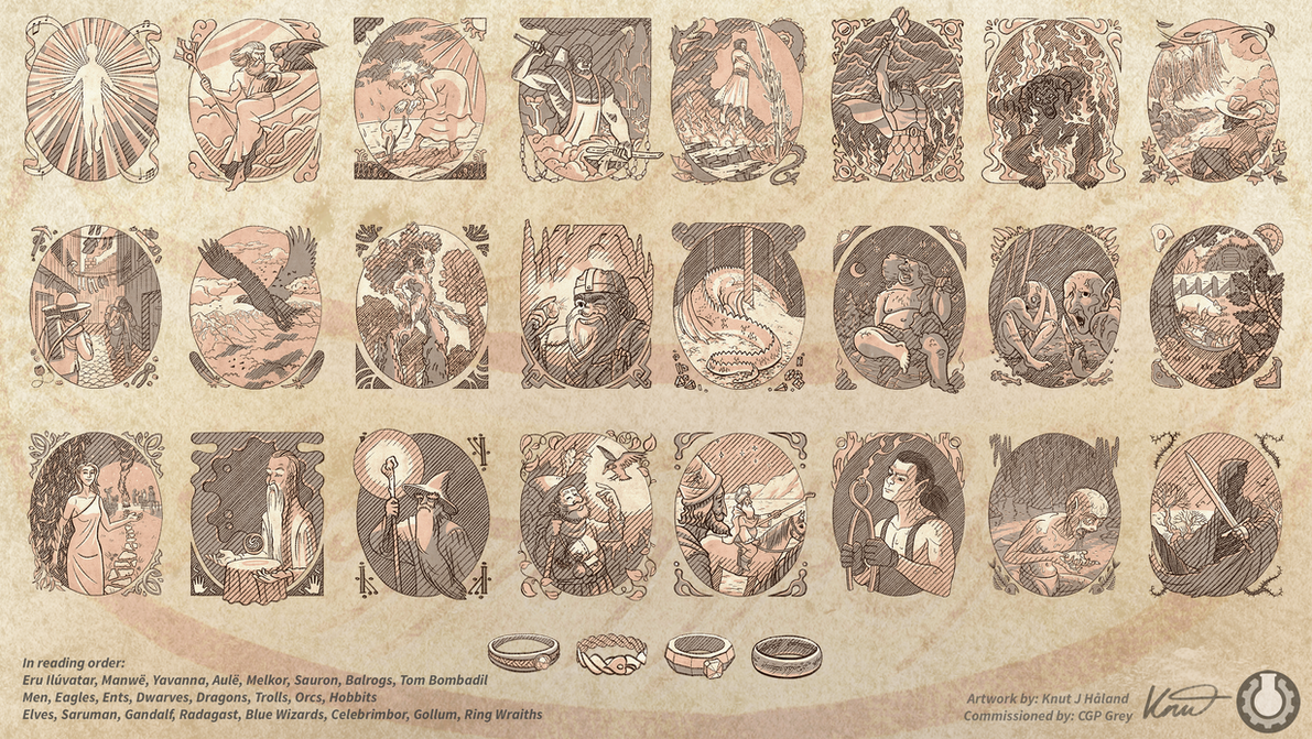 commission lotr portraits by kittyninjafish on deviantart