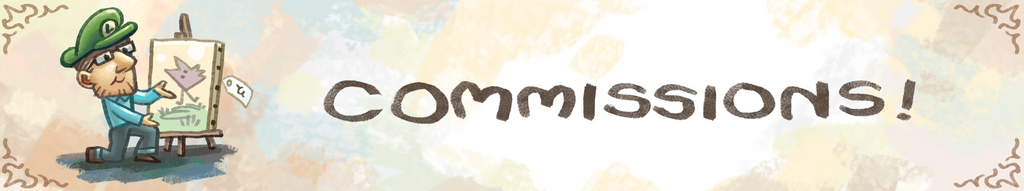 Commissions-header by kittyninjafish