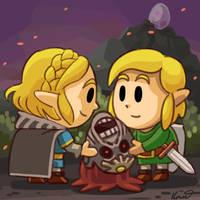 Fanart: Hey I found this creepy Ganondorf head