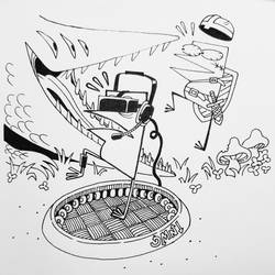 Inktober2019 #29: Immersion