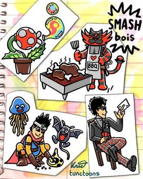 Smash Bois 69 - 72