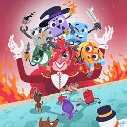 Fanart: Dicey Dungeons