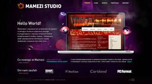 Mamezi Studio, website v1