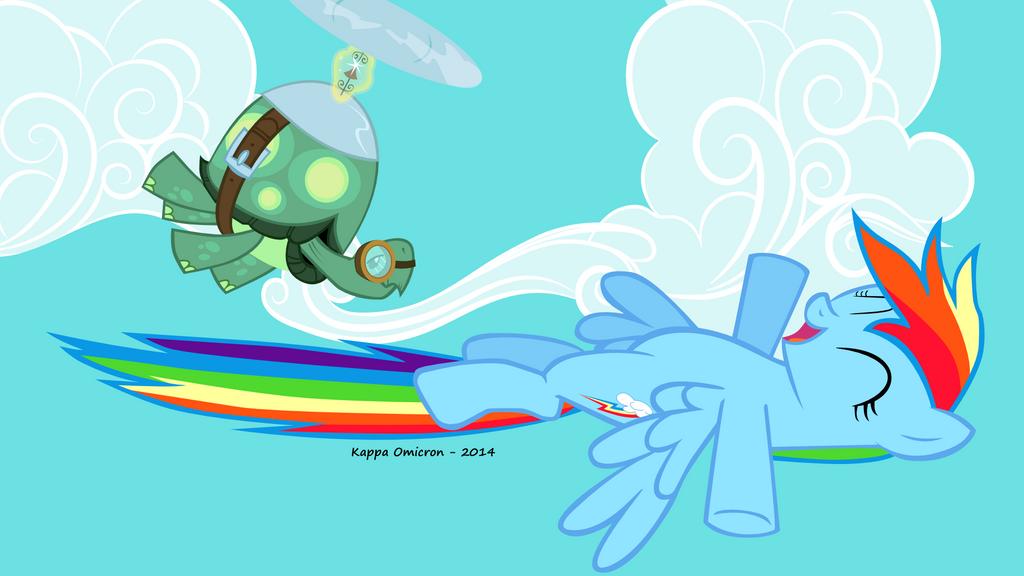 Rainbow Dash by KappaOmicron