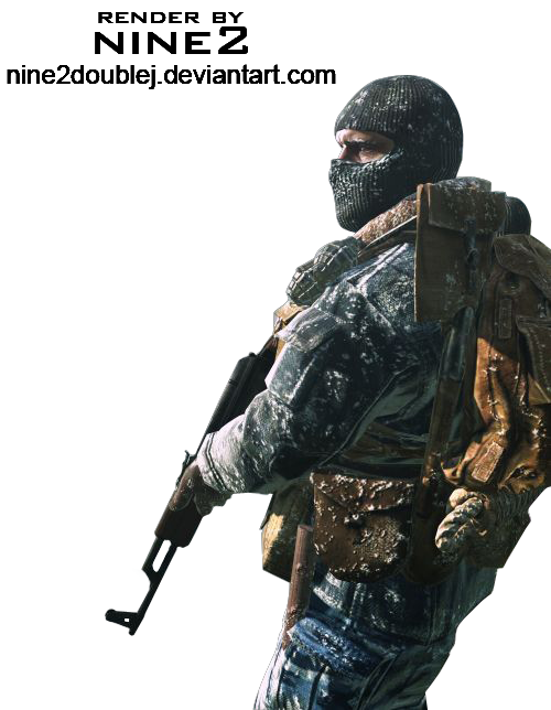 black ops render 3 by nine2doubleJ