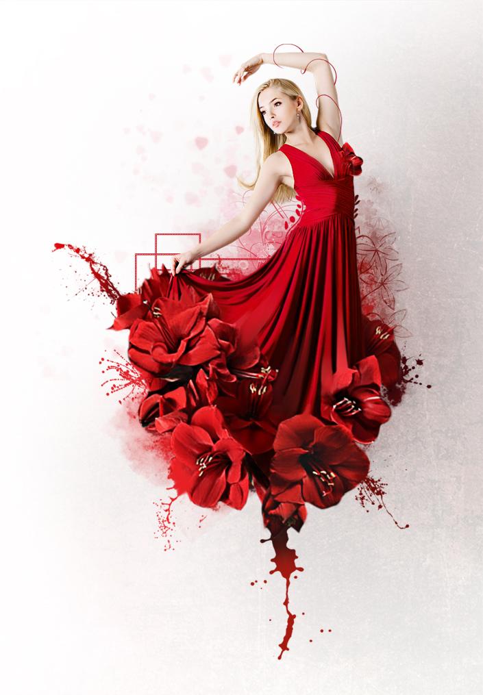 Red Flower by IgnisFatuusII