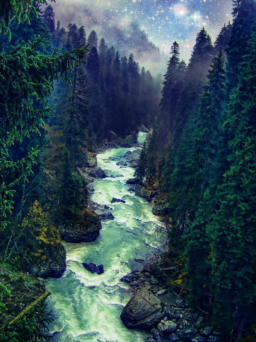 Fantasy landscape 03 by IgnisFatuusII