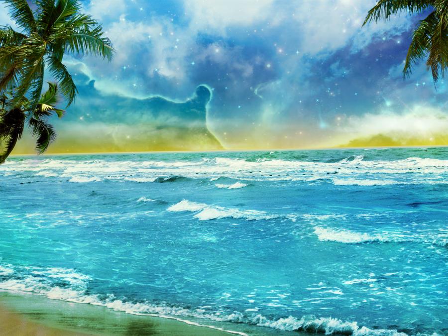 Fantasy background 12_Paradiso by IgnisFatuusII