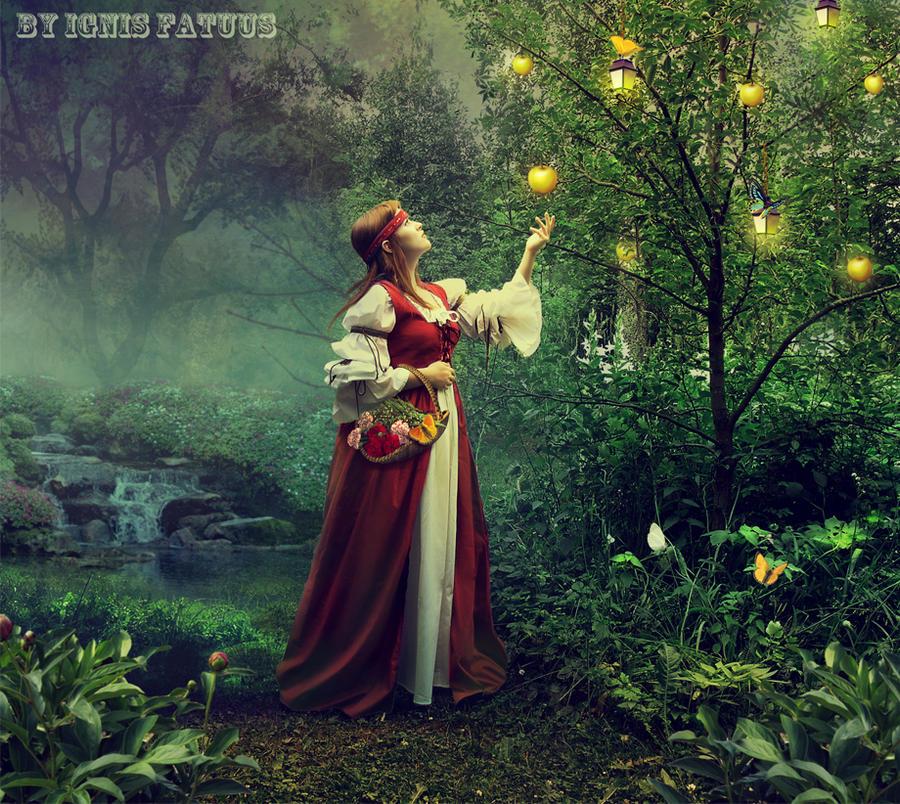 Golden apples. by IgnisFatuusII