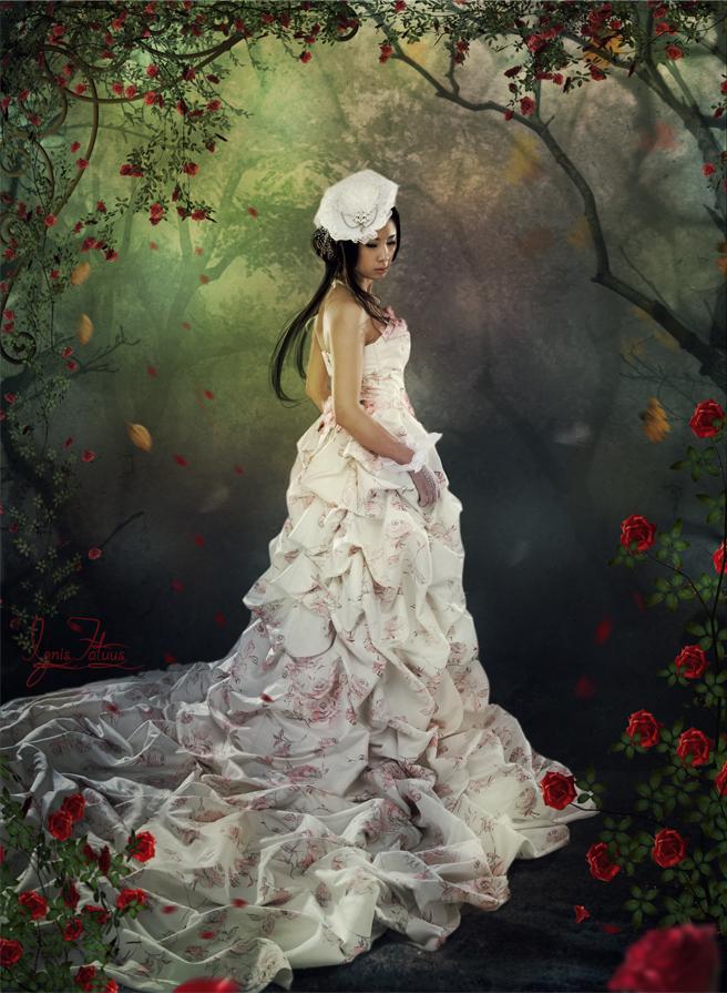 Autumn Roses by IgnisFatuusII