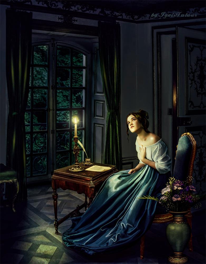 Tatyana Larina by IgnisFatuusII