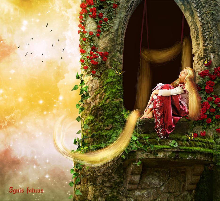 Rapunzel by IgnisFatuusII