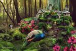 Fairytale forest house