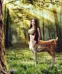 Deertaur Girl