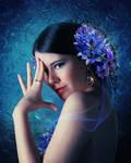 Blue flowers2