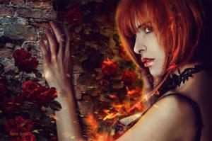 Flame Girl by IgnisFatuusII