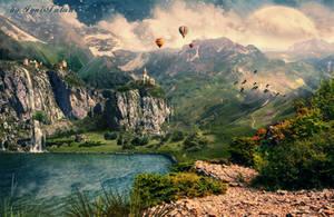 Landscape_remake by IgnisFatuusII