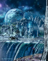 Fantasy Town by IgnisFatuusII