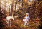 Fairytales of Autumn forest