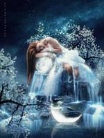 Sad moon by IgnisFatuusII