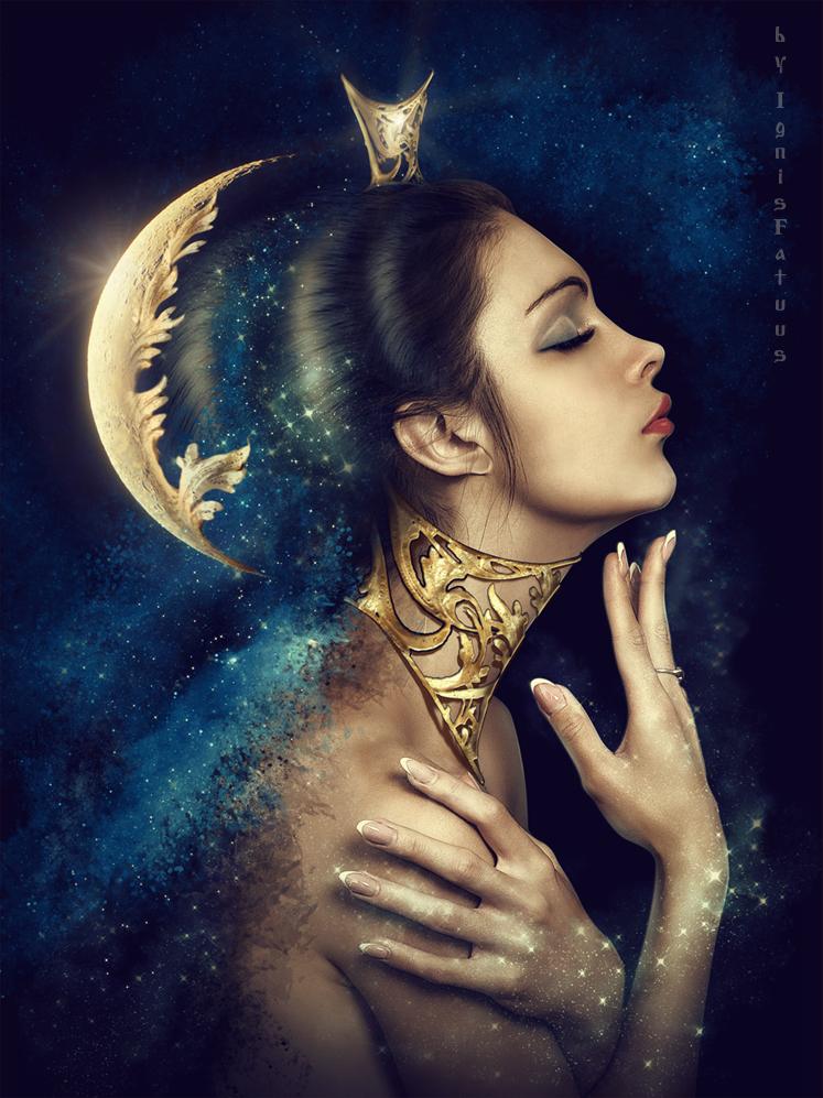 LadyMoon by IgnisFatuusII on DeviantArt