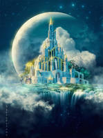 Moon castle by IgnisFatuusII