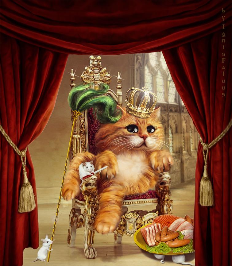 King by IgnisFatuusII