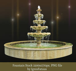 Fountain stock by IgnisFatuus