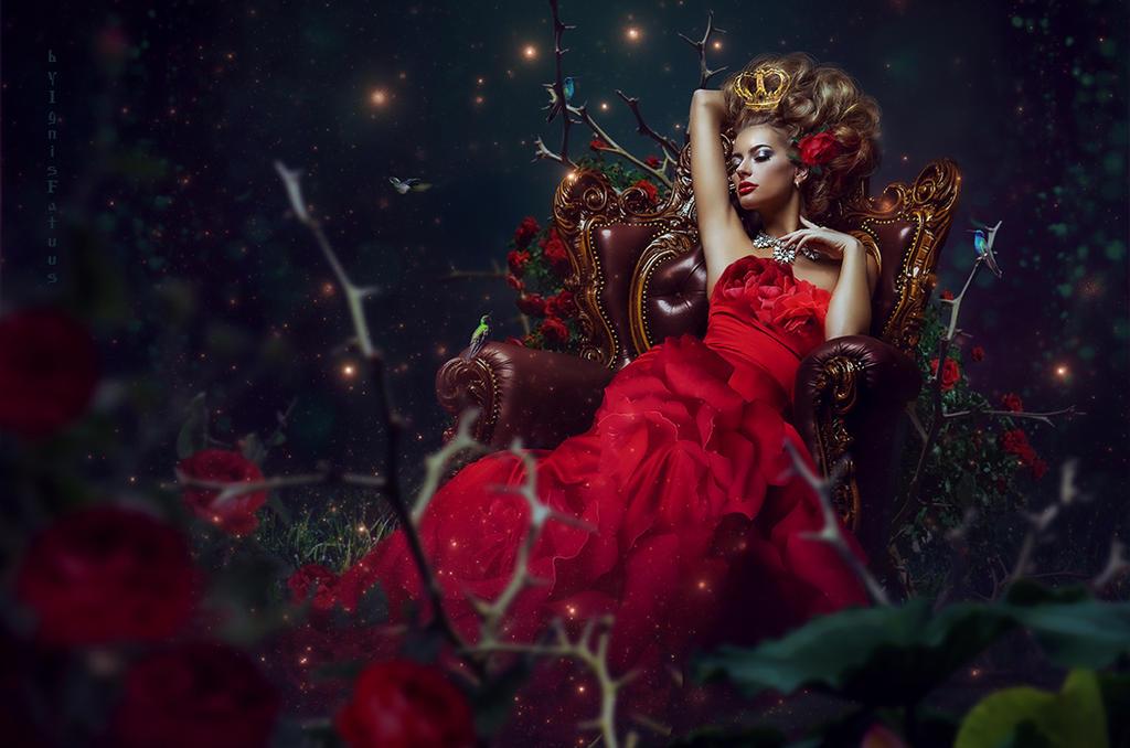 Queen of Roses by IgnisFatuusII
