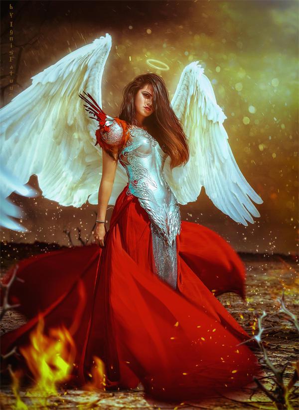 Angel by IgnisFatuusII